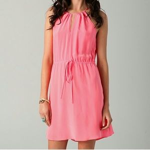 Rebecca Taylor silk key hole cami dress sz 0 (k14)